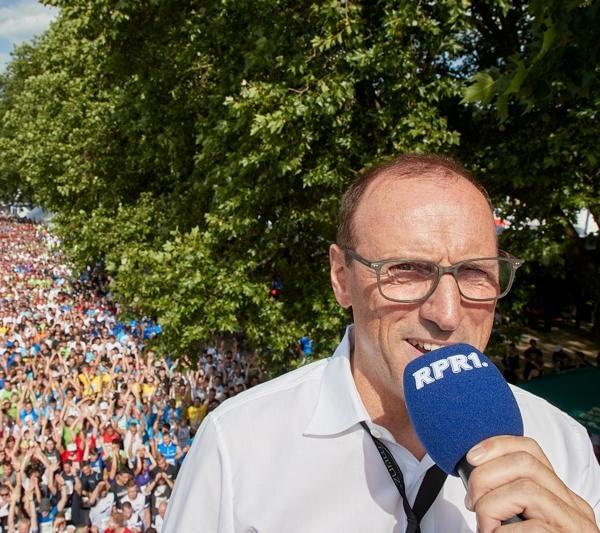 Marketingexperte Bernhard Münz beim münz firmenlauf in Koblenz